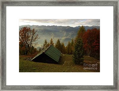 Alps Framed Print by Candido Salghero