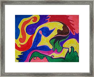 Alrisha The New Breed Framed Print by James Welch