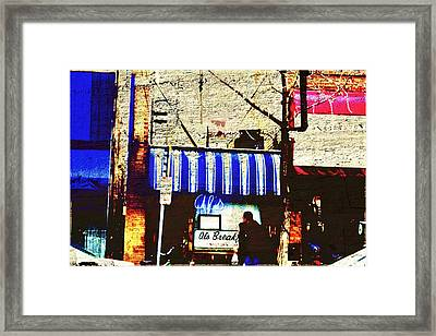 Al's Breakfast And U Of M Framed Print by Susan Stone