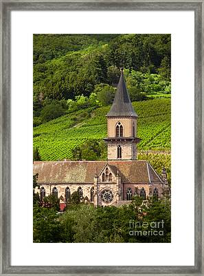 Alsace Church Framed Print