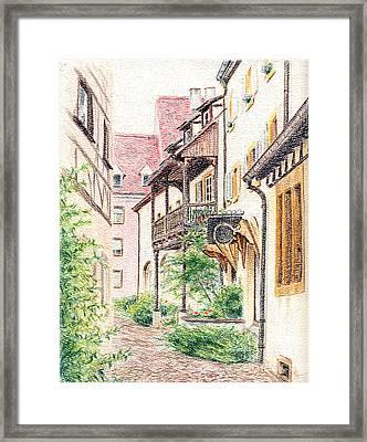 Alsace Framed Print by Elaine Berger