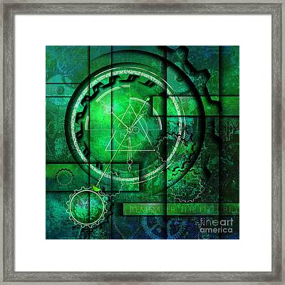 Also Me And You Framed Print by Franziskus Pfleghart
