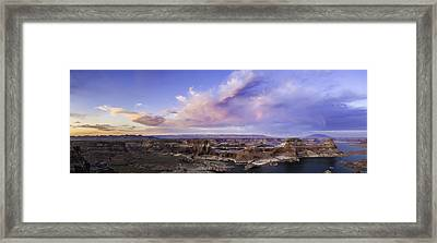 Alstrom Point Overlook Framed Print by Cusi Taylor