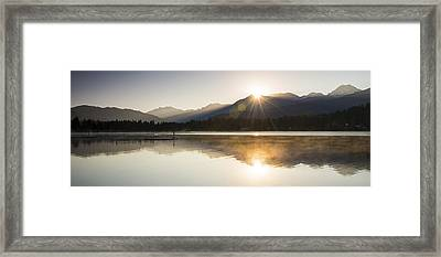 Alta Double Diamond Framed Print by Aaron Bedell