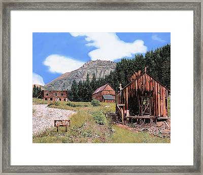 Alta In Colorado Framed Print