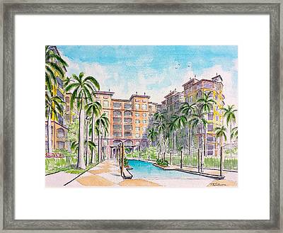 Altamar Framed Print