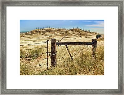 Altamont Pass - Locked In Framed Print