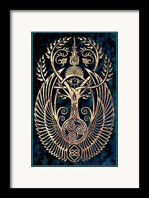 Horus Framed Prints
