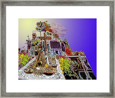 Altar Framed Print by Alice Ramirez