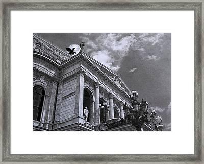 Alte Oper Frankfurt Framed Print by Hirokazu Tomimasu