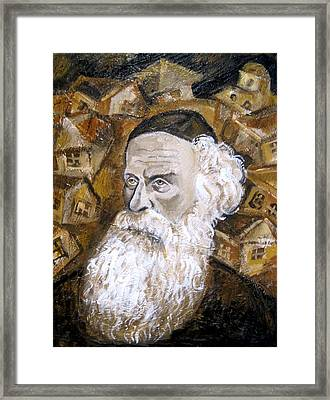 Alter Rebbe Framed Print