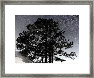 Asphalt Reflections Framed Print