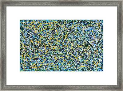 Altered Perception Of The Passage Of Time Framed Print by Gregory Young