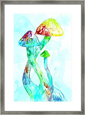 Altered Visions I Framed Print by Beverley Harper Tinsley