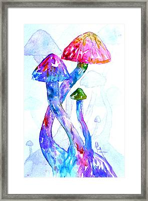 Altered Visions II Framed Print by Beverley Harper Tinsley