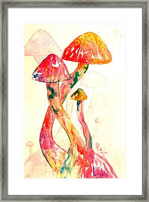 Altered Visions IIi Framed Print by Beverley Harper Tinsley