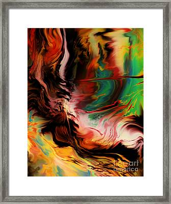 Alternate Reality Glide Framed Print