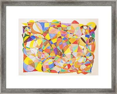 Framed Print featuring the painting Alternate Realities by Stormm Bradshaw