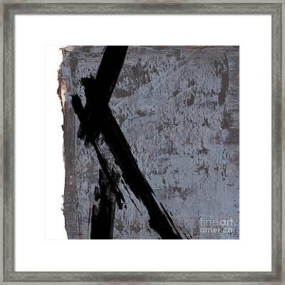 Alternative Edge I Framed Print by Paul Davenport