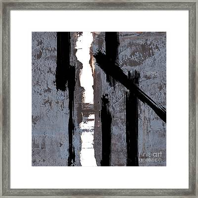 Alternative Edge Il Framed Print by Paul Davenport