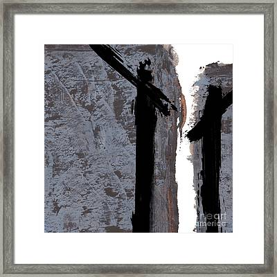 Alternative Edge Lll Framed Print by Paul Davenport