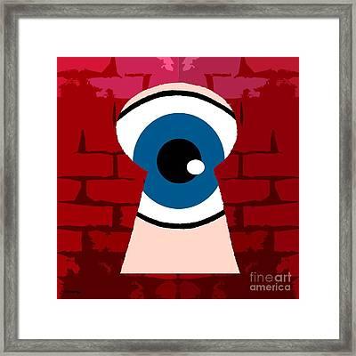 Alternative Point Of View Framed Print by Patrick J Murphy