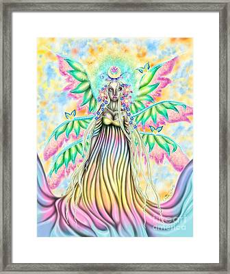 Altheia's Light Framed Print by Coriander  Shea