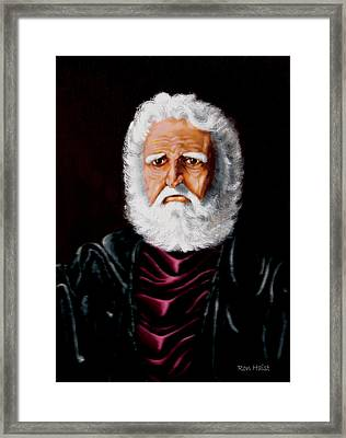 Altions...painted When 17years Old Framed Print by Ron Haist