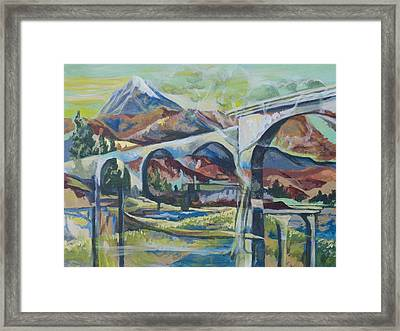 Altitude Framed Print by Tyler Auman