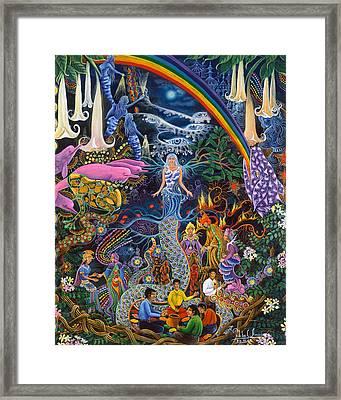 Alto Cielo Framed Print