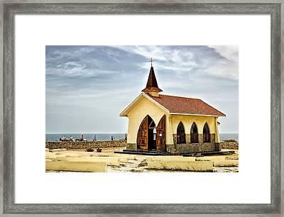 Alto Vista Chapel Aruba Framed Print