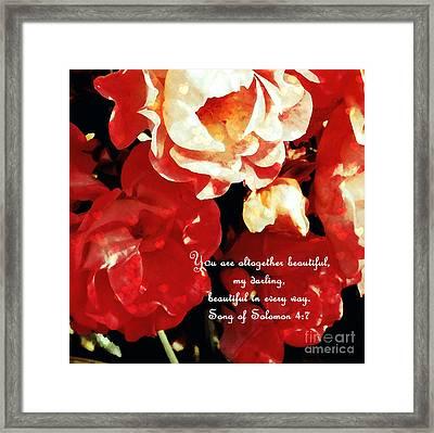 Altogether Lovely Framed Print