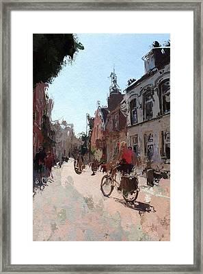Altstadt Leer Framed Print by Steve K