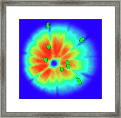 Aluminium-copper Alloy Framed Print