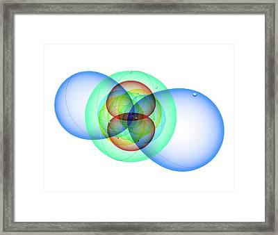 Aluminium Framed Print by Roger Harris