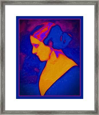 Alvira's Daughter Framed Print