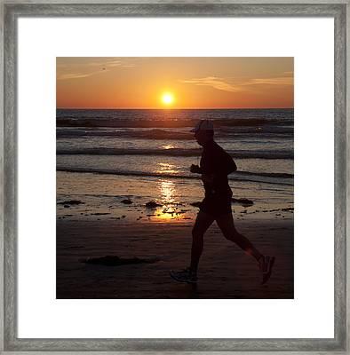 Framed Print featuring the photograph Always A Runner by Nathan Rupert
