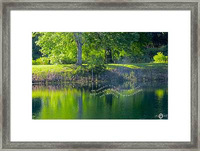 Always Giving Thanks Framed Print by David  Norman