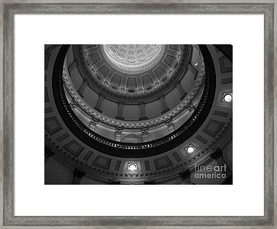 Always Look Up Framed Print by Barbara Bardzik