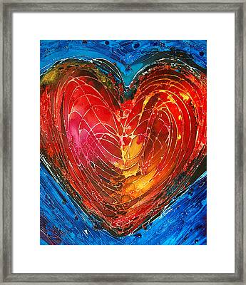 Always Framed Print by Sharon Cummings