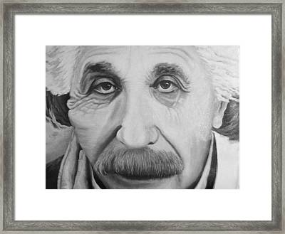 Always Thinking Framed Print