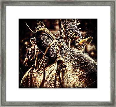 Always Trying Framed Print by Lincoln Rogers