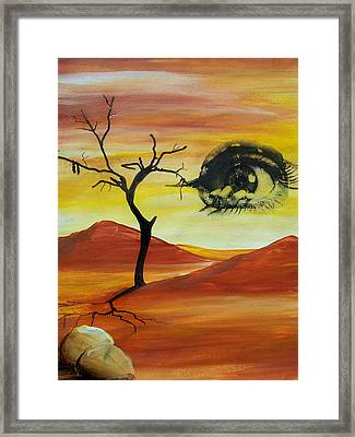 Always Watching Framed Print by Chad Rice