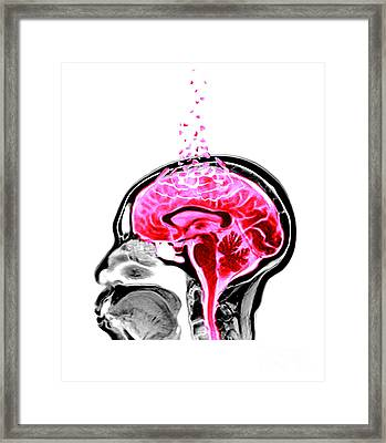 Alzheimers Framed Print by Spencer Sutton
