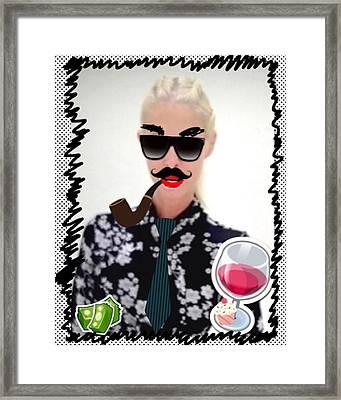 Am I Leon Redbone Framed Print