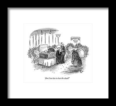 Grave Robbers Framed Prints