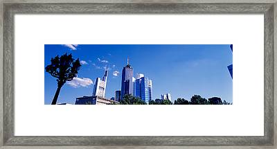 Am Main Bank, Frankfurt, Germany Framed Print by Panoramic Images