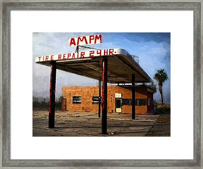 Am Pm Framed Print by Ron Regalado