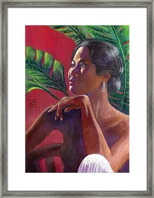 Ama Lia Framed Print by Jack Adams