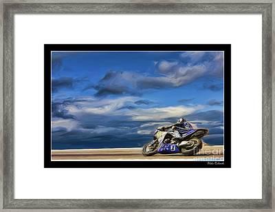 Ama Superbike Josh Jayes Framed Print